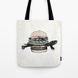 Turtle Sandwich | Desaturated Tote Bag