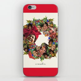 a-wreath-a iPhone Skin