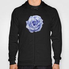 Ballpoint Blue Rose Hoody