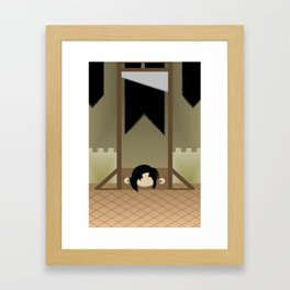 Execution of the Marshall Framed Art Print