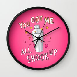 You Got Me All Shook Up Wall Clock