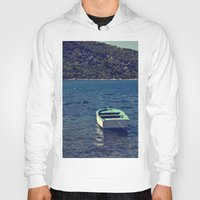 boat Hoodies featuring boat by gzm_guvenc