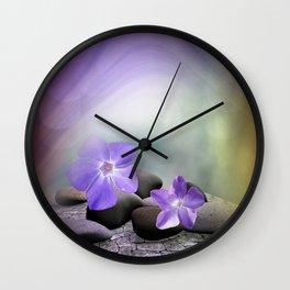 evergreen blossoms -1- Wall Clock