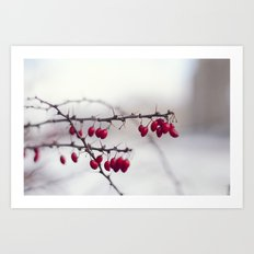 pop of Red II Art Print