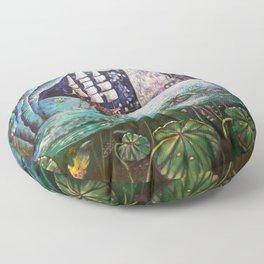 Lake Languish Floor Pillow