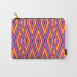 Bargello Quilt Pattern 1 Carry-All Pouch