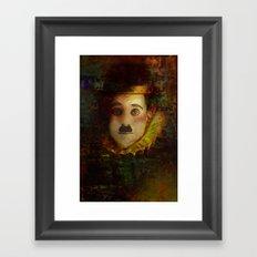 Portrait of a myth Framed Art Print