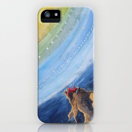 Sparks That Ring iPhone Case
