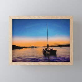 ámame Framed Mini Art Print