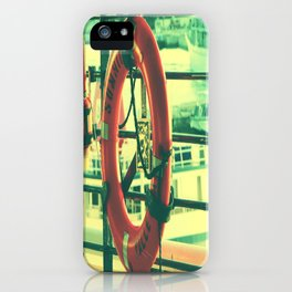 I'd rather drown (my troubles) iPhone Case