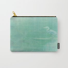 Blue Heron - collage Carry-All Pouch