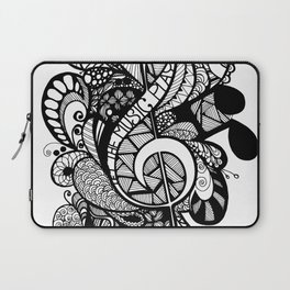 Let the music play! Laptop Sleeve