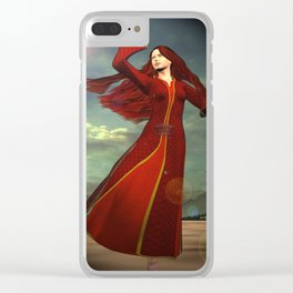 Mary Magdalene Clear iPhone Case