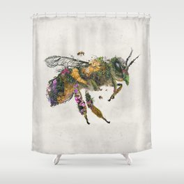 Must be the honey Shower Curtain