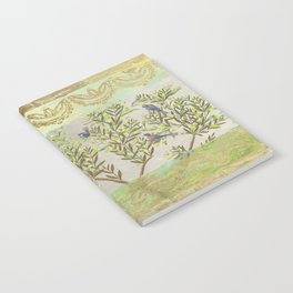 Twittering // birds // gossiping // tree branches Notebook