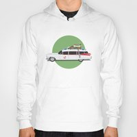 ghostbusters Hoodies featuring Ghostbusters HQ by Michael Walchalk