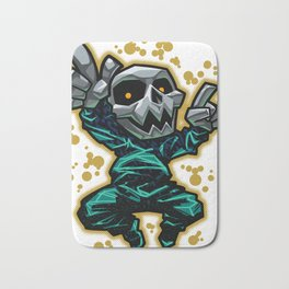 Skull Dancer Bath Mat