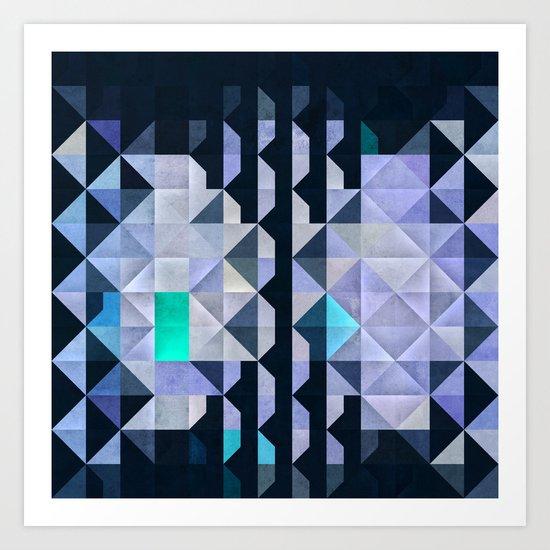 X3 Art Print