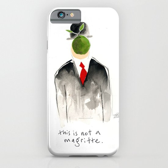 this is not a magritte iPhone & iPod Case