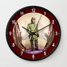 General Simian of the Glorious Banana Republic Wall Clock