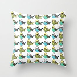 BIRBS Throw Pillow