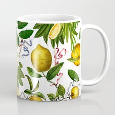 LEMON TREE White Coffee Mug