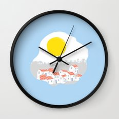 Breakfast Day  Wall Clock