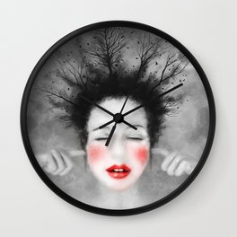 The Noise of the World - MonGhost VIII (V1) Wall Clock
