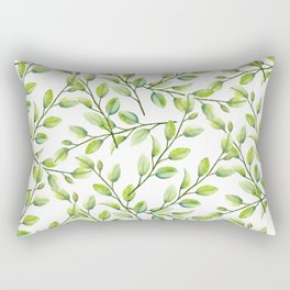 Branches and Leaves Rectangular Pillow