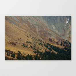 warm valley Canvas Print