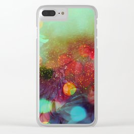 daisy reflection Clear iPhone Case