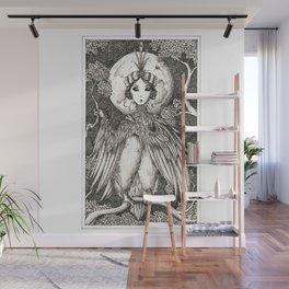 Harpy queen Wall Mural