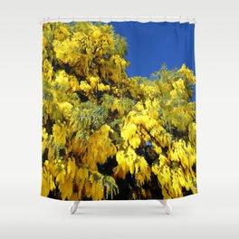 Australian Golden Wattle Shower Curtain