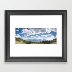 Canada, Rocky Mountains Framed Art Print