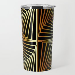 Rotating squares Travel Mug