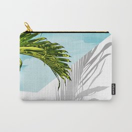 Palms In My Tropical Backyard Carry-All Pouch