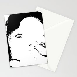 Face 02 Stationery Cards