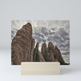 Rugged Formations at Arches Mini Art Print