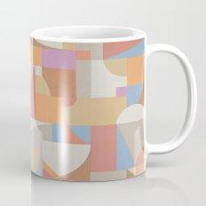 1 Inch Manila Grid Mug