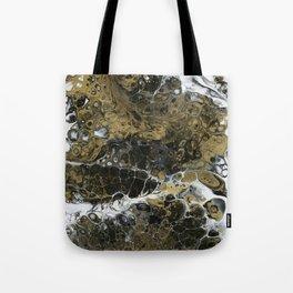 Team Splash, Black and Gold Tote Bag