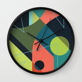Punched in the Mouth Wall Clock