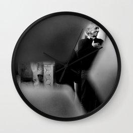 Old Man Laughing Wall Clock