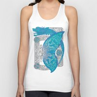 scandinavian Tank Tops featuring SCANDINAVIAN SUMMER by RAIDHO