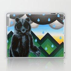Geometric Black Bear Laptop & iPad Skin