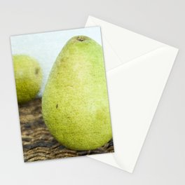 One Pair, Two Pears Stationery Cards