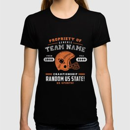 Generic Football T-Shirt T-shirt