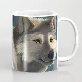 Grey Wolf in the Morning Coffee Mug