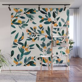 Clementine Sprigs Wall Mural
