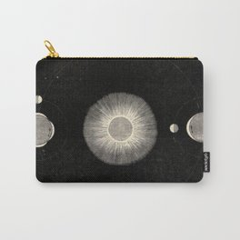 Vintage Astronomy Sun Moon And Tides Carry-All Pouch