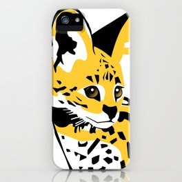 Serval 01 iPhone Case